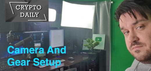 CryptoDaily Camera and Gear Setup